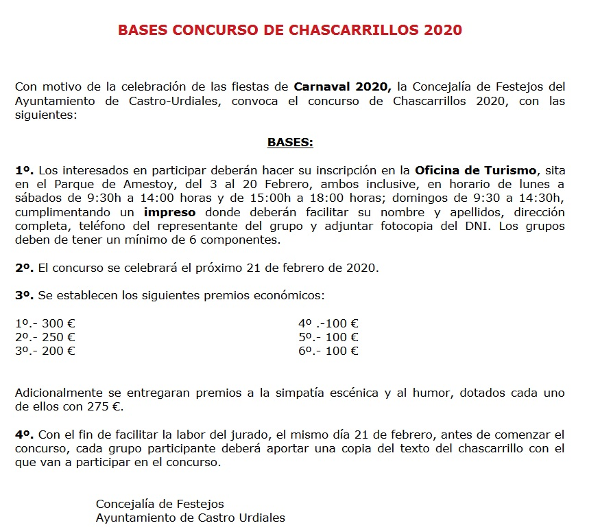 202002 bases chascarrillos carnaval castro urdiales 2020