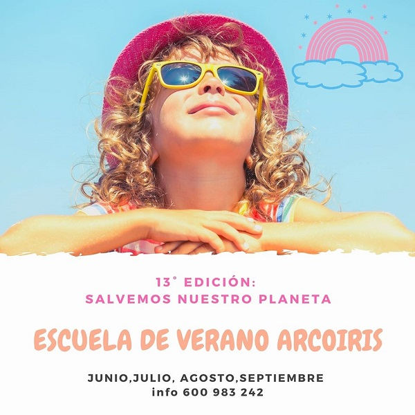 cartel campus arcoiris verano 2020