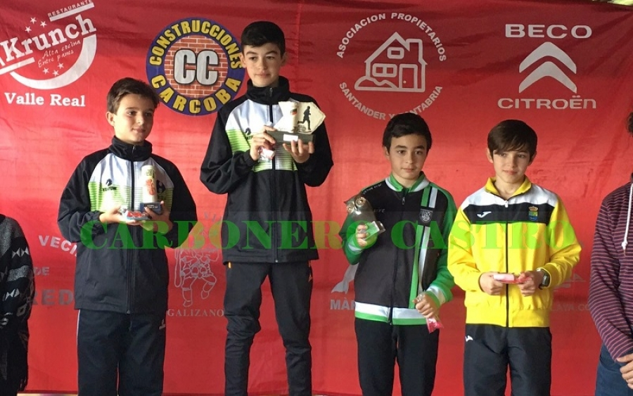 ATLETISMO/ El Club Carbonero en el I Cross La Biela 43 en Galizano